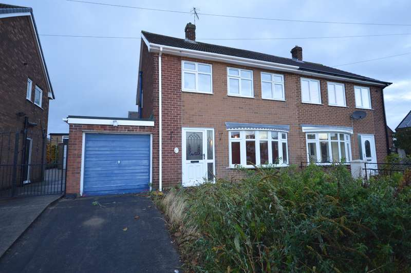 3 Bedrooms Semi Detached House for sale in Avondale Road, Inkersall, Chesterfield, S43