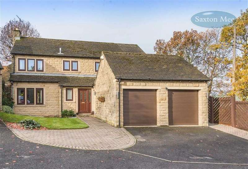 4 Bedrooms Detached House for sale in Robin Hood Chase, Stannington, Sheffield, South Yorkshire, S6