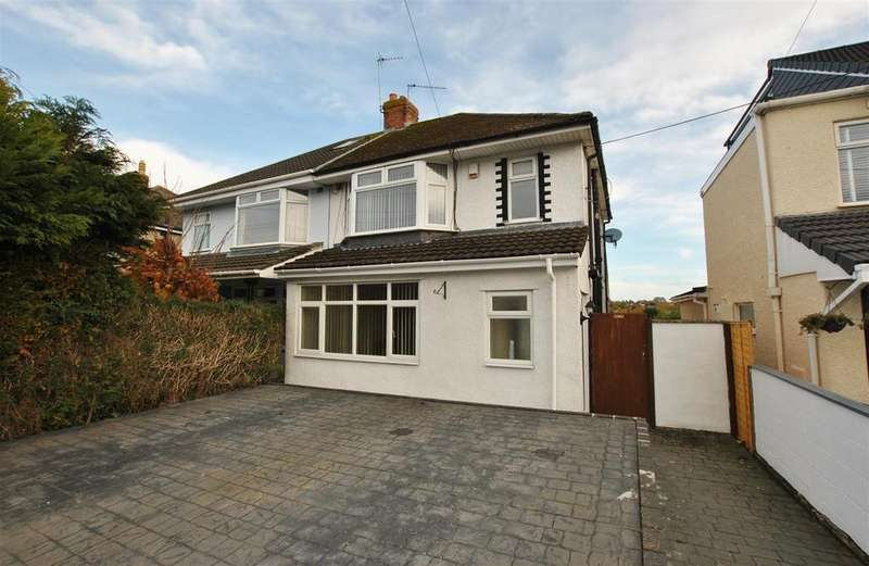 3 Bedrooms Semi Detached House for sale in Ridgeway Lane, Whitchurch