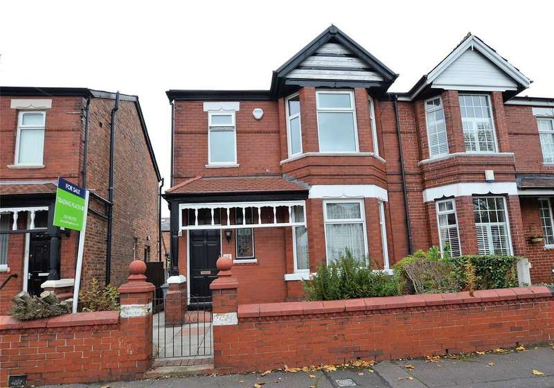 3 Bedrooms Semi Detached House for sale in Cecil Road, Stretford, Manchester, M32