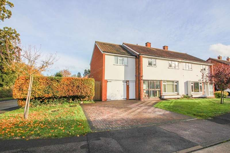 4 Bedrooms Semi Detached House for sale in The Gowers, Harlow, CM20