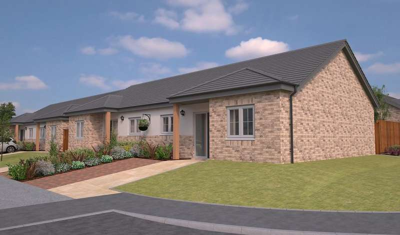2 Bedrooms Semi Detached Bungalow for sale in Church Hill, Washingborough, Lincoln