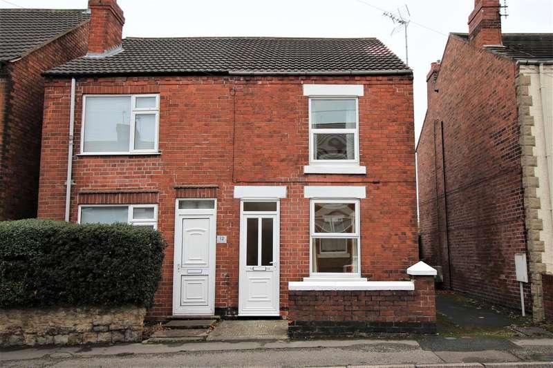 2 Bedrooms Semi Detached House for sale in Wilson Street, Alfreton