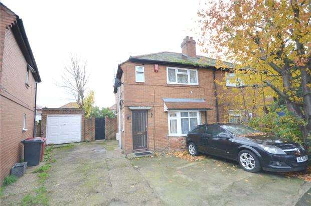 3 Bedrooms Semi Detached House for sale in Norfolk Avenue, Slough