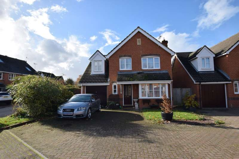 4 Bedrooms Detached House for sale in Foxborough, Swallowfield, Reading, RG7
