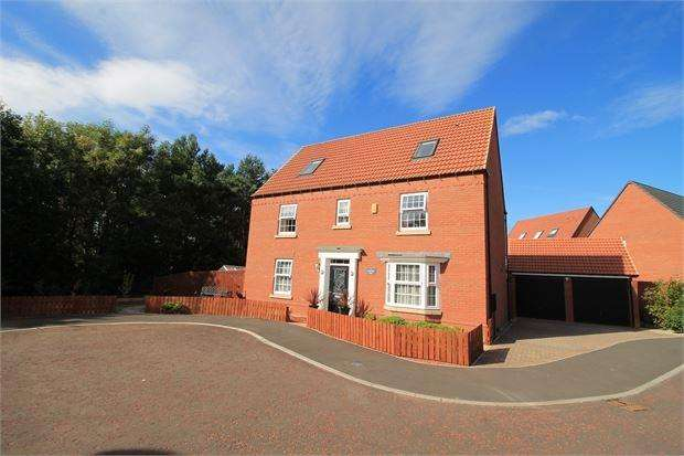6 Bedrooms Detached House for sale in Dovestone, Teal farm Village, Washington, Tyne and Wear. NE38 8FD