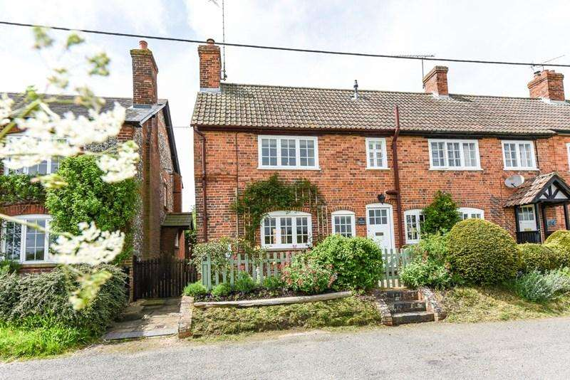 3 Bedrooms Semi Detached House for sale in Hurstbourne Priors, Whitchurch