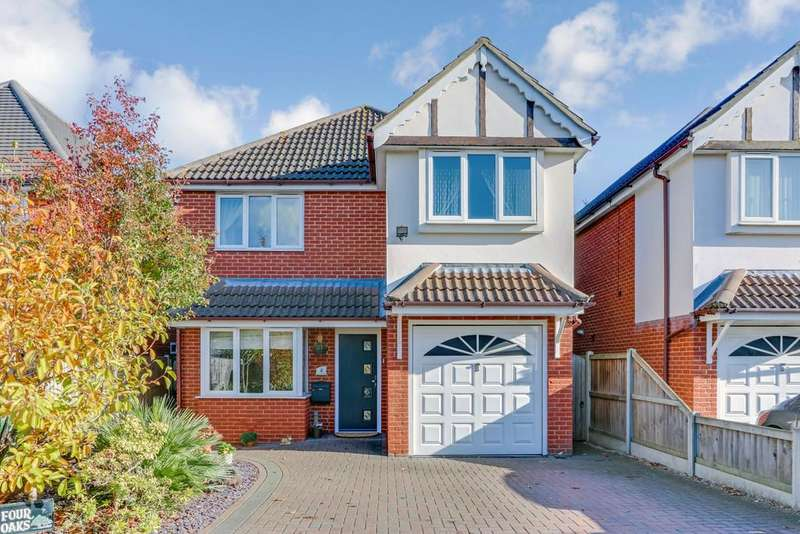 4 Bedrooms Detached House for sale in Oakview Close, Leigh-on-Sea