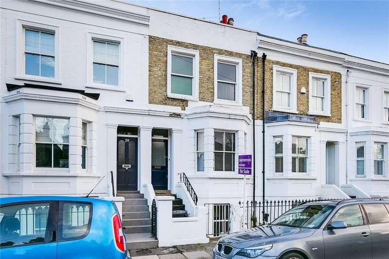 3 Bedrooms Terraced House for sale in Merthyr Terrace, Barnes, London