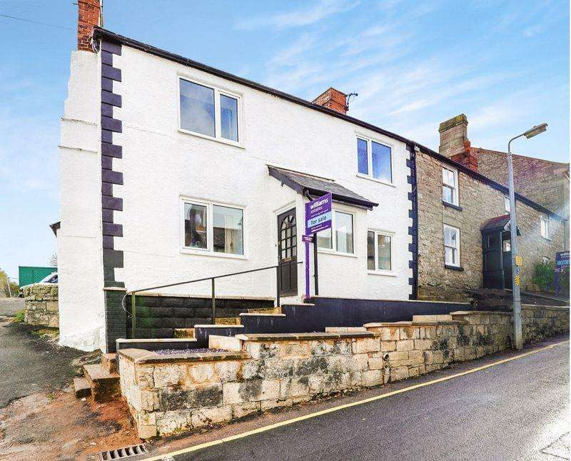3 Bedrooms Terraced House for sale in Beacons Hill, Denbigh