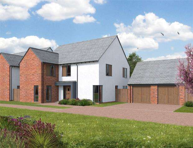 5 Bedrooms Detached House for sale in Orchard View, Kingfisher Rise, Newton St Cyres