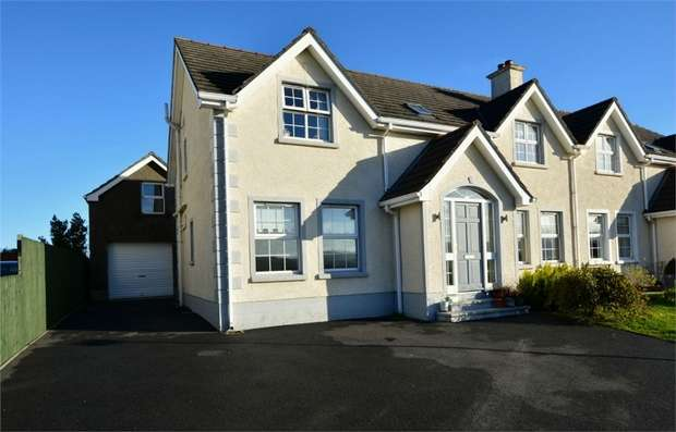 4 Bedrooms Semi Detached House for sale in Curragh Hill, Carnlough, Ballymena, County Antrim