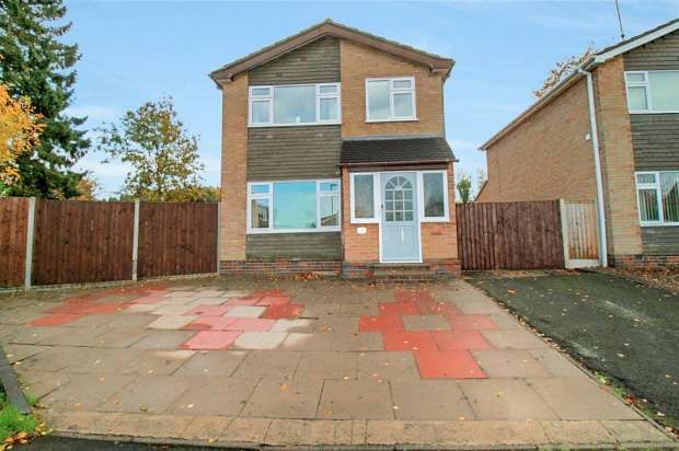 3 Bedrooms Detached House for sale in Caernarvon Close, Loughborough, Leicestershire, LE12 9QB