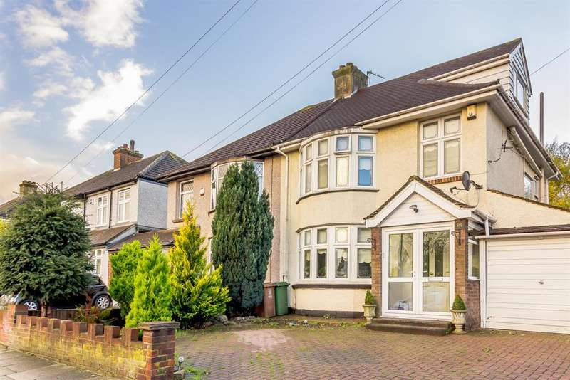 4 Bedrooms Semi Detached House for sale in Maxwell Road, Welling, Kent, DA16 2ES