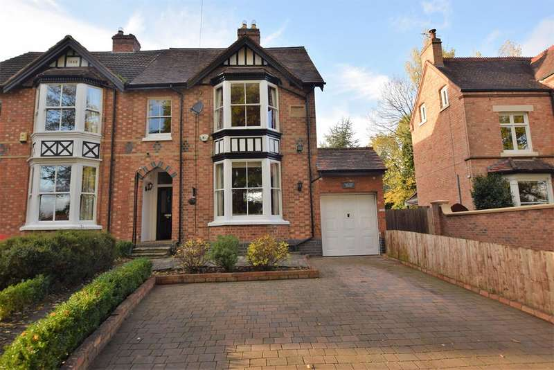 4 Bedrooms Semi Detached House for sale in Station Lane, Lapworth, Solihull, B94 6JG