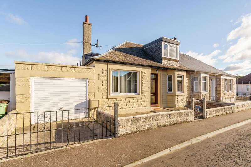 3 Bedrooms Semi Detached Bungalow for sale in 10 Newhailes Crescent, Musselburgh, EH21 6DS
