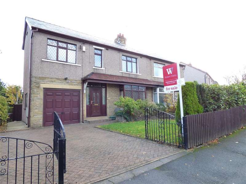 4 Bedrooms Semi Detached House for sale in Willowfield Crescent, Wrose, Bradford, BD2