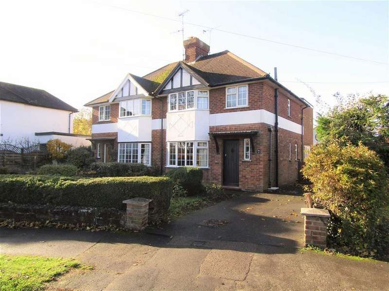 3 Bedrooms Semi Detached House for sale in Bearton Green, Hitchin, SG5