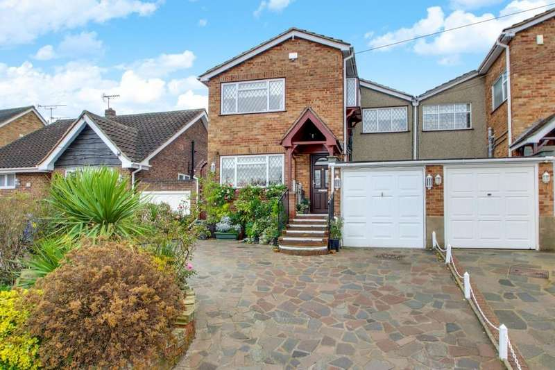 4 Bedrooms Link Detached House for sale in Grove Road, South Benfleet