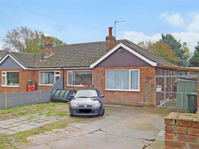 3 Bedrooms Semi Detached Bungalow for sale in Orby Road, Addlethorpe, Skegness, PE24 4TR