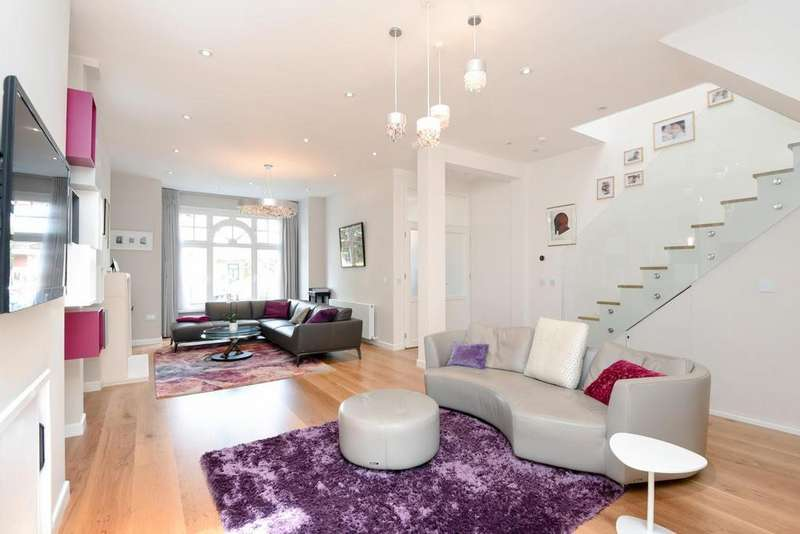 5 Bedrooms Semi Detached House for sale in Westbere Road, West Hampstead