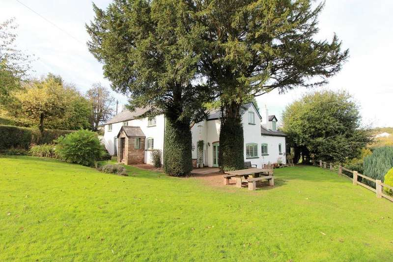 4 Bedrooms Detached House for sale in Kingcoed, Usk, NP15
