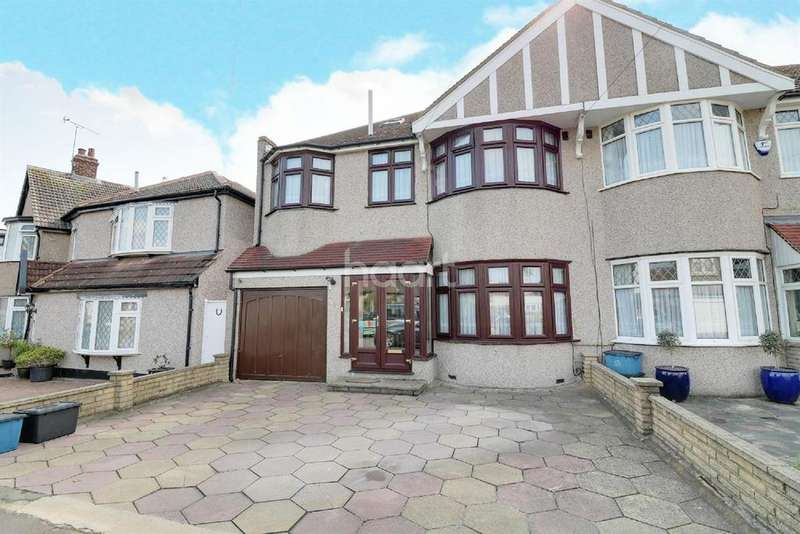 5 Bedrooms Semi Detached House for sale in Ryecroft Avenue, Clayhall