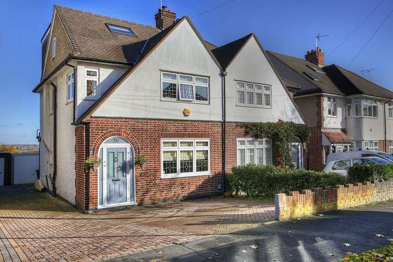 4 Bedrooms Semi Detached House for sale in Hill Top, Loughton IG10