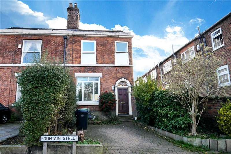 3 Bedrooms Semi Detached House for sale in Fountain Street, Macclesfield