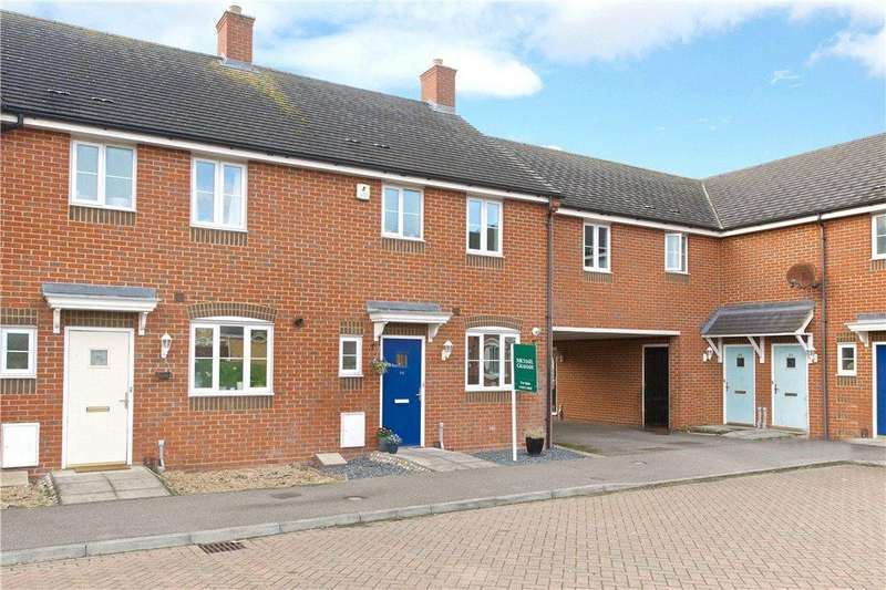 3 Bedrooms Terraced House for sale in Lincroft, Cranfield, Bedfordshire