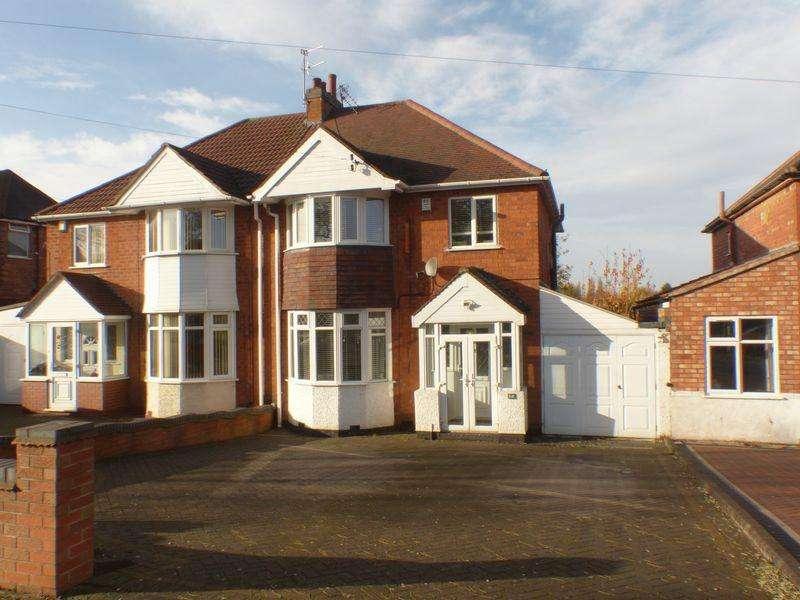 3 Bedrooms Semi Detached House for sale in Warren Road, Kingstanding, Birmingham