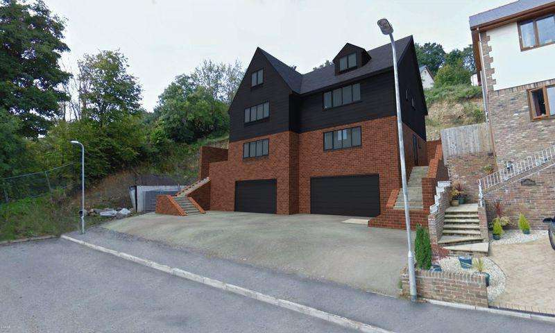4 Bedrooms Semi Detached House for sale in Plot Two Hill Close, Pontypool
