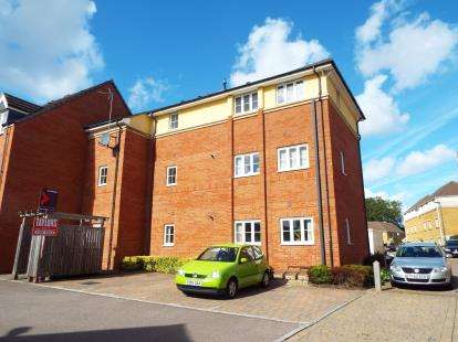 2 Bedrooms Flat for sale in Shepherds Walk, Bradley Stoke, Bristol, Gloucestershire