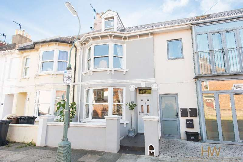 3 Bedrooms Terraced House for sale in Sheridan Terrace, Hove, BN3 5AE