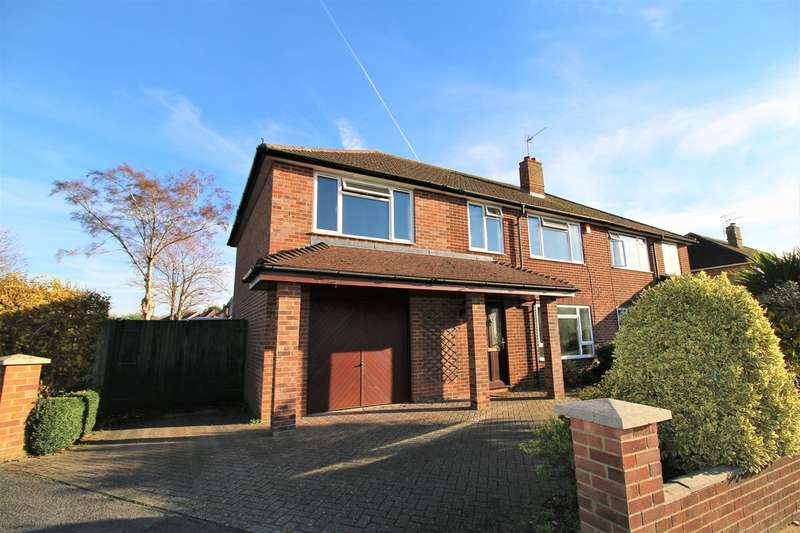 4 Bedrooms Semi Detached House for sale in Oaklands Way, Basingstoke, RG23