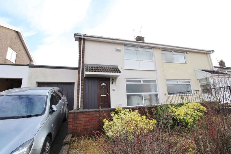 3 Bedrooms Semi Detached House for sale in Aberthaw Circle, Newport, NP19