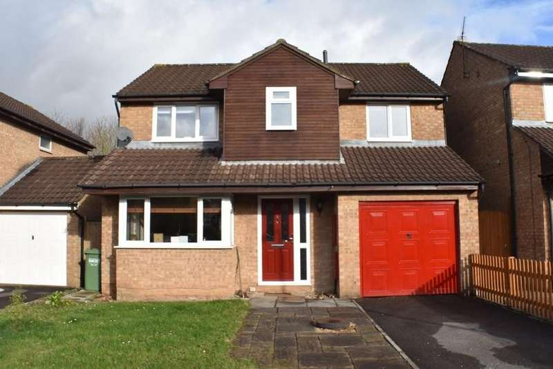 4 Bedrooms Detached House for sale in Parnall Crescent, Yate