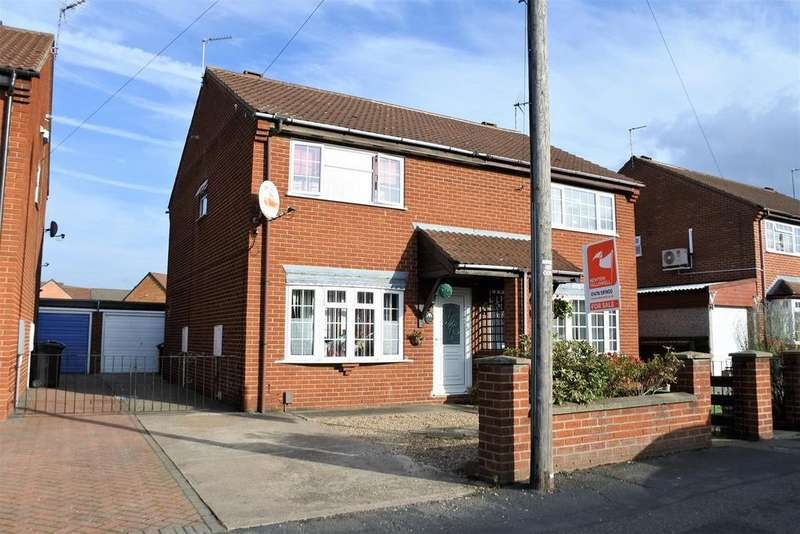 3 Bedrooms Semi Detached House for sale in Huntingtower Road, Grantham