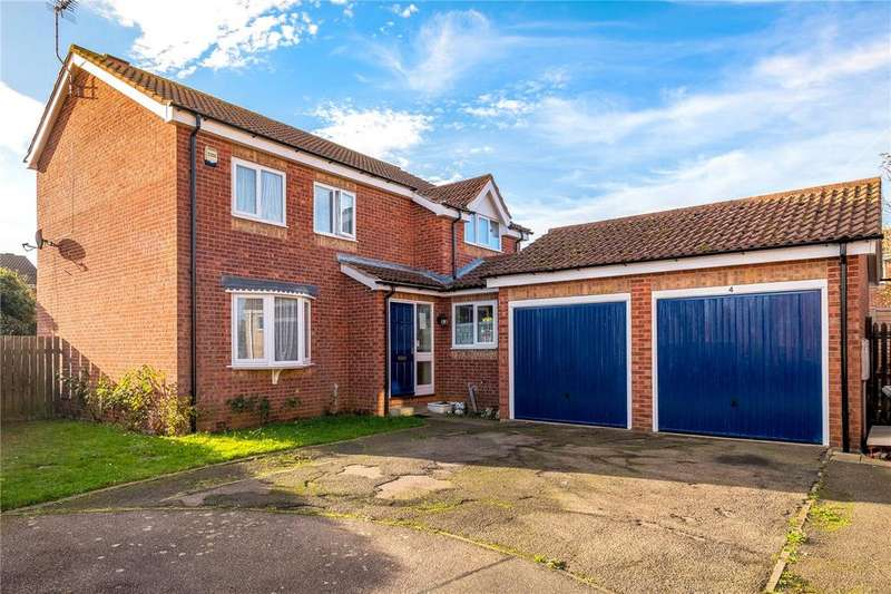 4 Bedrooms Detached House for sale in Hereford Close, Sleaford, Lincolnshire, NG34