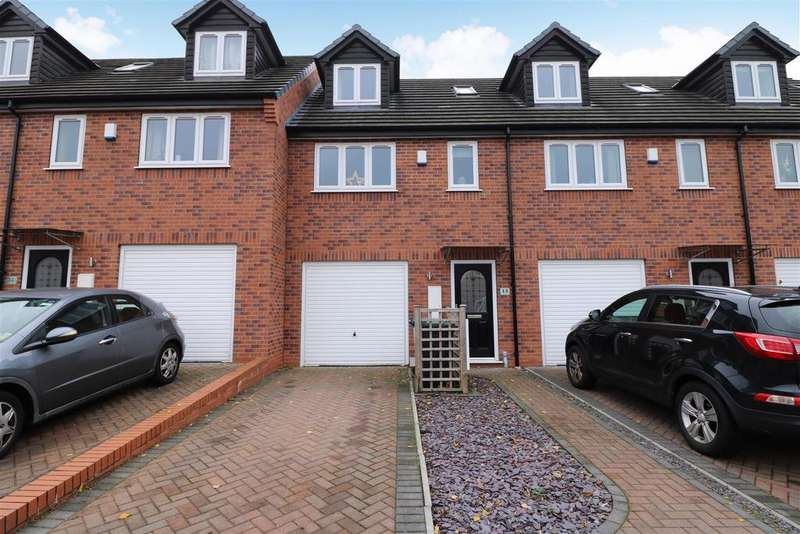3 Bedrooms Mews House for sale in Trent View Grove, Hanley, Stoke-On-Trent