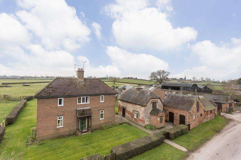3 Bedrooms Detached House for sale in Willows Farm, Sutton-On-The-Hill, Ashbourne, Derbyshire, DE6 5JF