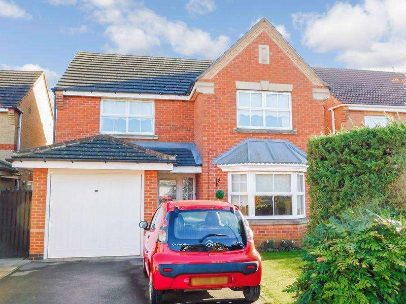 4 Bedrooms Detached House for sale in Tattershall Close, Barrowby Gate, Grantham