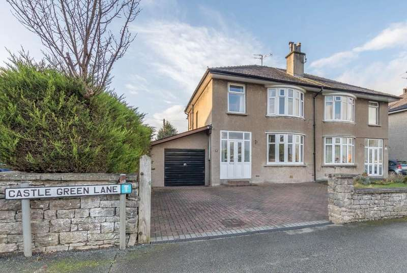 3 Bedrooms Semi Detached House for sale in 12 Castle Green Lane, Kendal