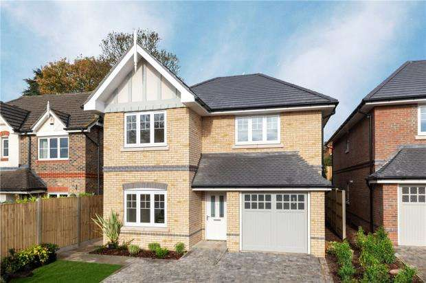 4 Bedrooms Detached House for sale in Queen's Place, Fairfax Close, Caversham