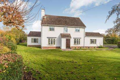 4 Bedrooms Detached House for sale in Napleton Lane, Kempsey, Worcester, Worcestershire