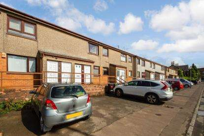 2 Bedrooms Flat for sale in Clark Street, Kilmarnock