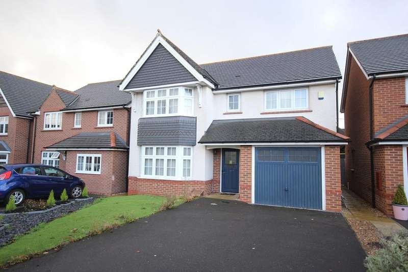 4 Bedrooms Detached House for sale in Clayton Road, Buckley, CH7