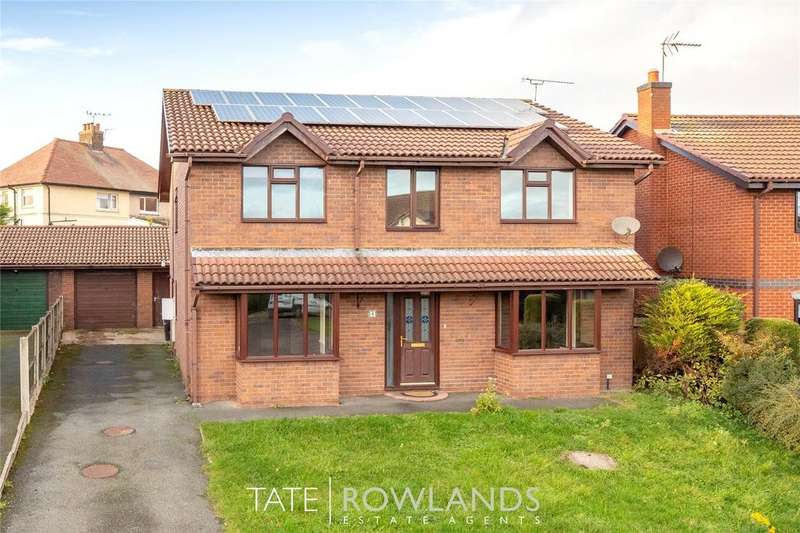 4 Bedrooms Detached House for sale in Church Walk, Bagillt, Flintshire, CH6