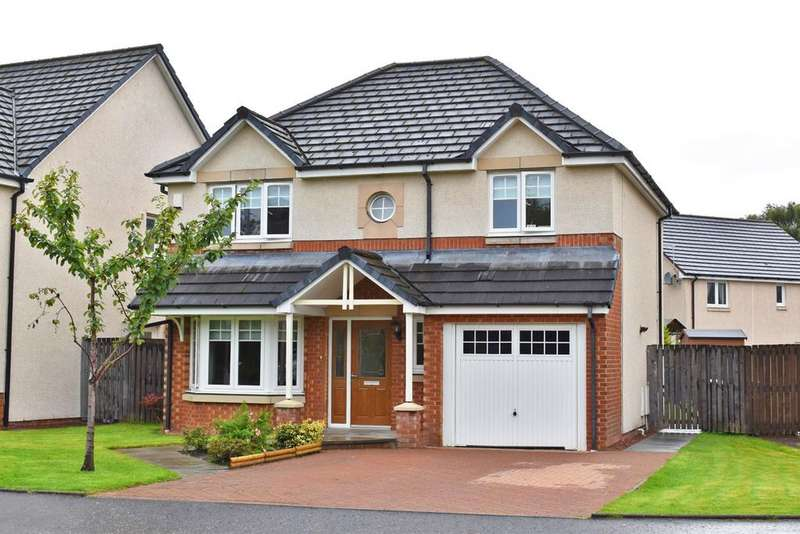 4 Bedrooms Detached House for sale in 12 Almora Drive, Dumbarton, G82 1AE