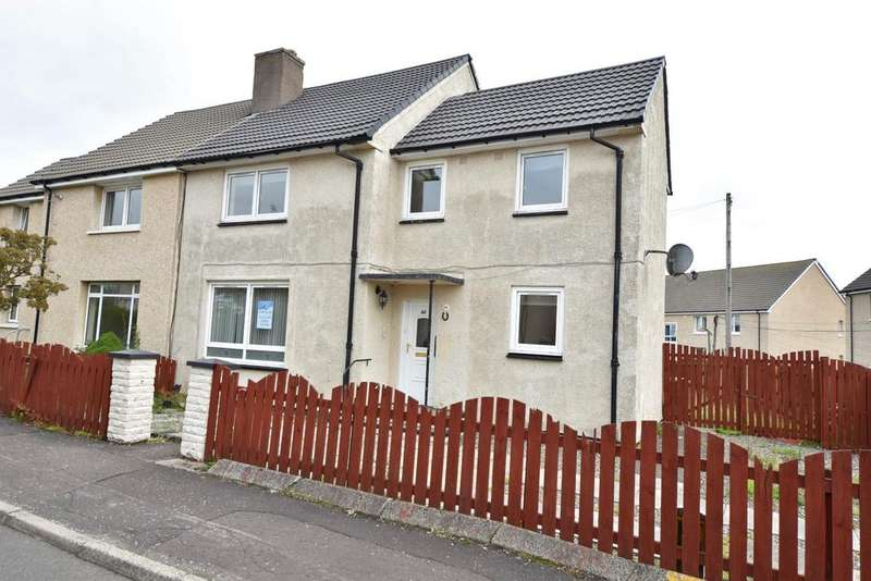 4 Bedrooms Semi Detached House for sale in 46 Castlehill Road, Dumbarton, G82 5AS